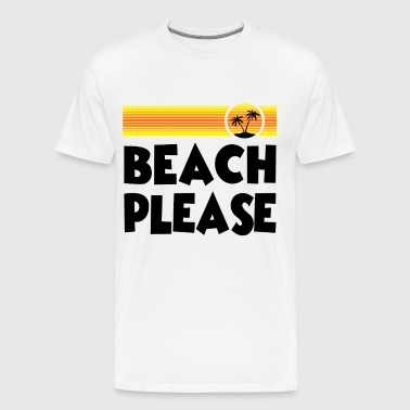 PLEASE 2.png - Men's Premium T-Shirt