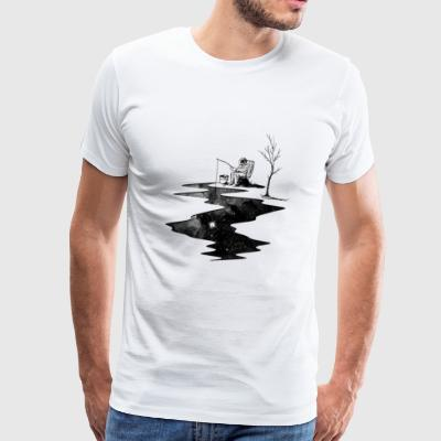 Space Fisher - Men's Premium T-Shirt