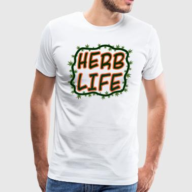 Herb Life - Men's Premium T-Shirt