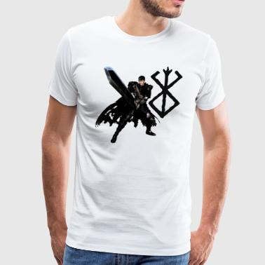 Berserk GUTS Anime - Men's Premium T-Shirt
