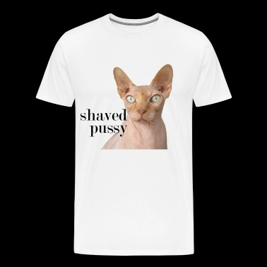 shaved pussy - Men's Premium T-Shirt