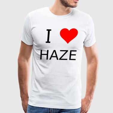 I love Haze - Men's Premium T-Shirt