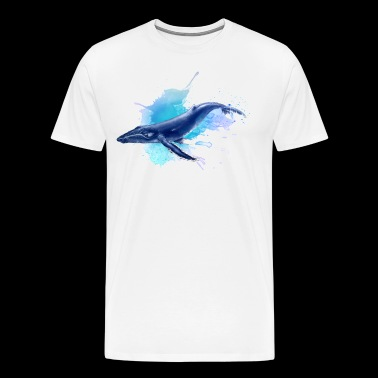 blue whale - Men's Premium T-Shirt