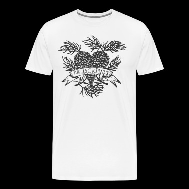 Pine cone heart - Men's Premium T-Shirt