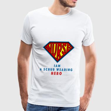 the super nurse - Men's Premium T-Shirt