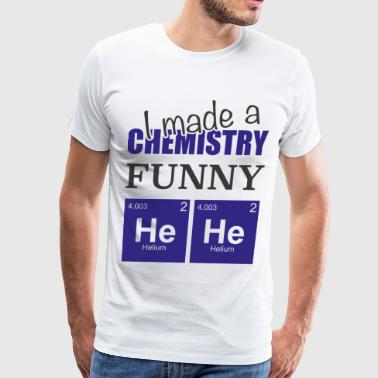 Chemistry Joke Gift for science student - Men's Premium T-Shirt