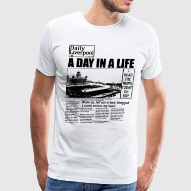 A Day in a Life - Men's Premium T-Shirt