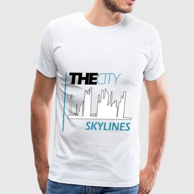 skylines - Men's Premium T-Shirt