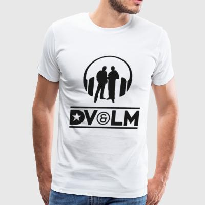Dimitri Vegas & Like Mike (Black Color Design) - Men's Premium T-Shirt