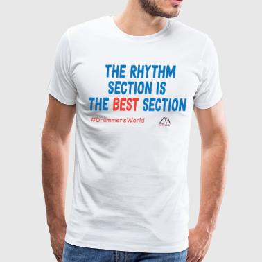 the rhythm section is the best section - Men's Premium T-Shirt