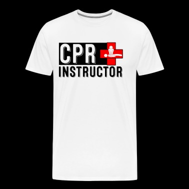 AED CPR PROFESSIONAL T-Shirt C.P.R. Instructor - Men's Premium T-Shirt