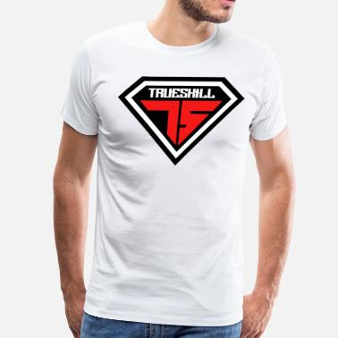 Skill True Skill Logo - Men's Premium T-Shirt