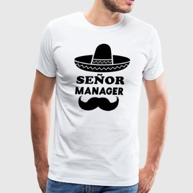 Señor Manager (Senior Manager) - Men's Premium T-Shirt