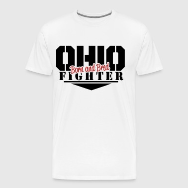 Born and Bred Fighter - Men's Premium T-Shirt