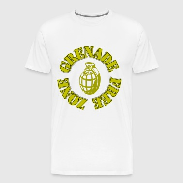 Grenade Free Zone Jersey Shore - Men's Premium T-Shirt