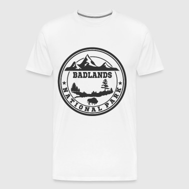 BADLANDS12.png - Men's Premium T-Shirt