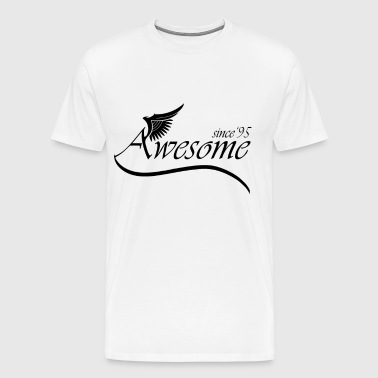 Awesome SINCE 1995 - Men's Premium T-Shirt
