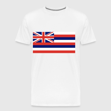 Hawaii State Flag - Men's Premium T-Shirt