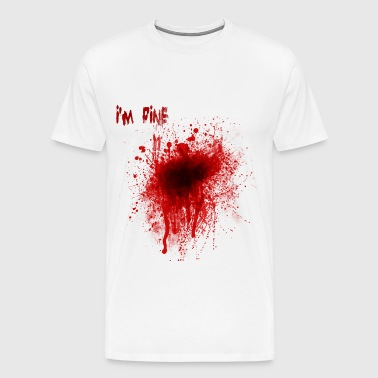 blood_splatter_tshirt - Men's Premium T-Shirt