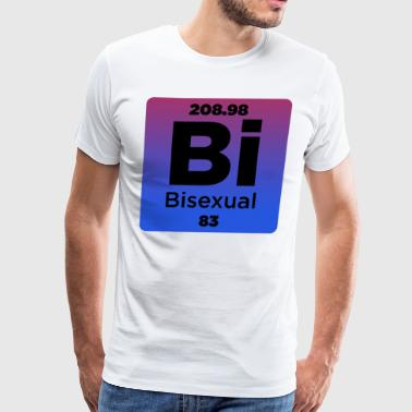 Bisexual Element - Men's Premium T-Shirt