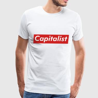 Capitalist Box Logo - Men's Premium T-Shirt