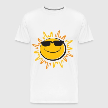smiling sun - Men's Premium T-Shirt