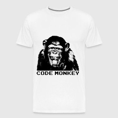 Code Monkey - Men's Premium T-Shirt