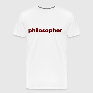 Philosopher - Men's Premium T-Shirt