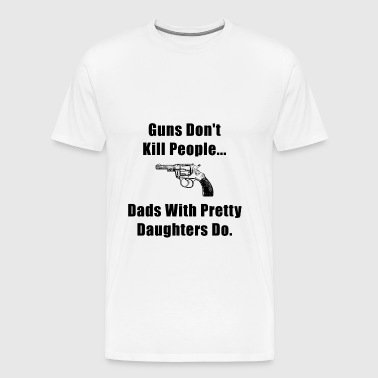 Dad Guns - Men's Premium T-Shirt