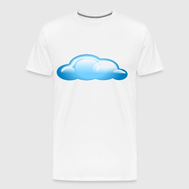 blue cloud - Men's Premium T-Shirt