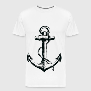 retro anchor - Men's Premium T-Shirt