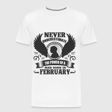 FEB MAN 1.png - Men's Premium T-Shirt