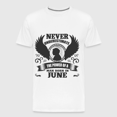 JUNE MAN 1.png - Men's Premium T-Shirt