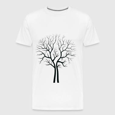 bare trees - Men's Premium T-Shirt