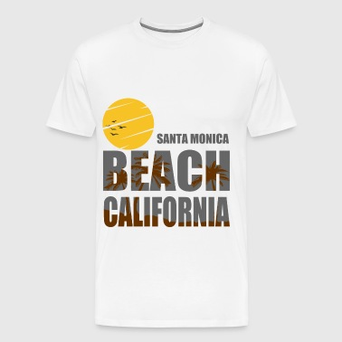SANTA MONICA 1.png - Men's Premium T-Shirt