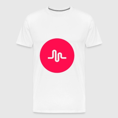 musically logo - Men's Premium T-Shirt