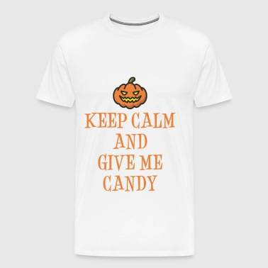 Halloween Give Me Candy - Men's Premium T-Shirt