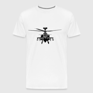 Apache US Military Helicopter - Men's Premium T-Shirt