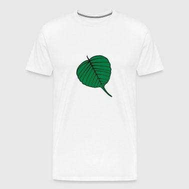 Bodhi Leaf  Green - Men's Premium T-Shirt