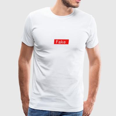 Fake By Clean Finish - Men's Premium T-Shirt