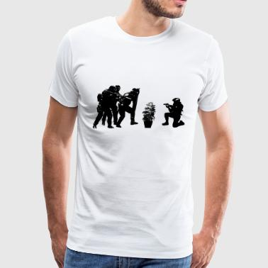 Police brutality coming up - Men's Premium T-Shirt