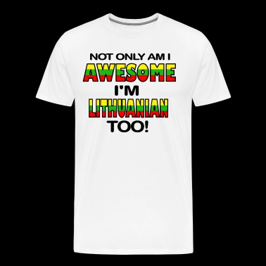 LITHUANIAN - Men's Premium T-Shirt