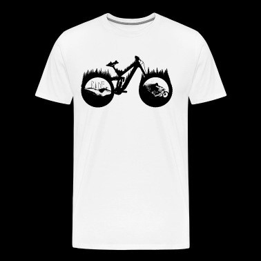 DH BIke - Men's Premium T-Shirt
