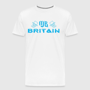 Mr Britain - Men's Premium T-Shirt