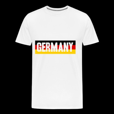 Germany Soccer Football fan gift idea - Men's Premium T-Shirt