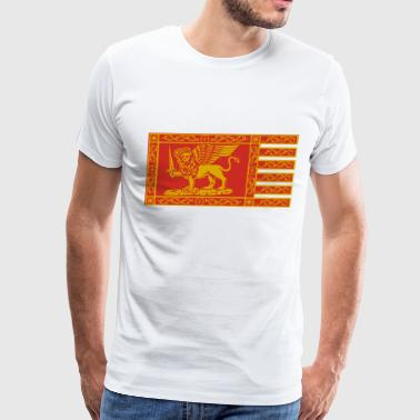 Venice Flag - Men's Premium T-Shirt