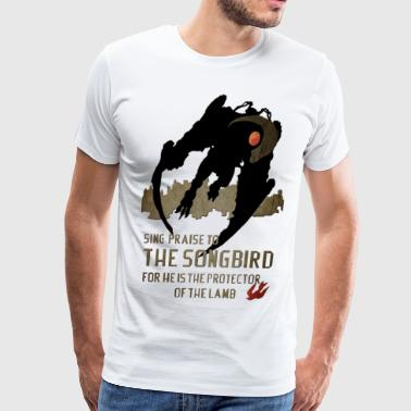 The songbird - Men's Premium T-Shirt
