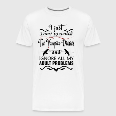 Vampire diaries - Men's Premium T-Shirt