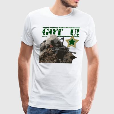 GOT U MILITARY STYLE - Men's Premium T-Shirt