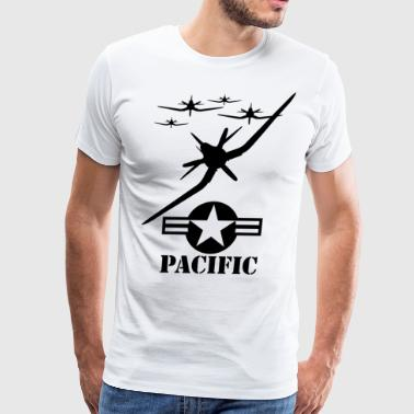 pacific blak - Men's Premium T-Shirt